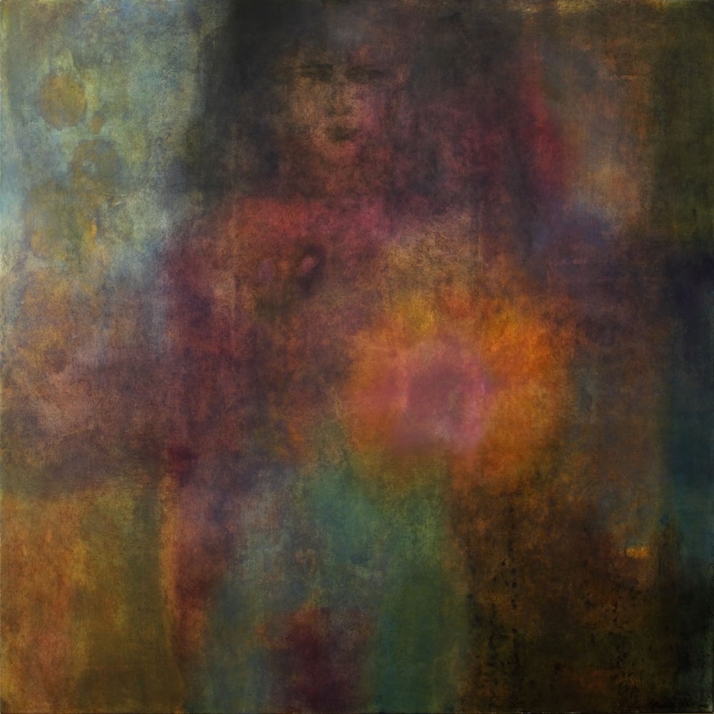 The Girl in the Green Silk Stockings 160 x 160cms copy.jpg